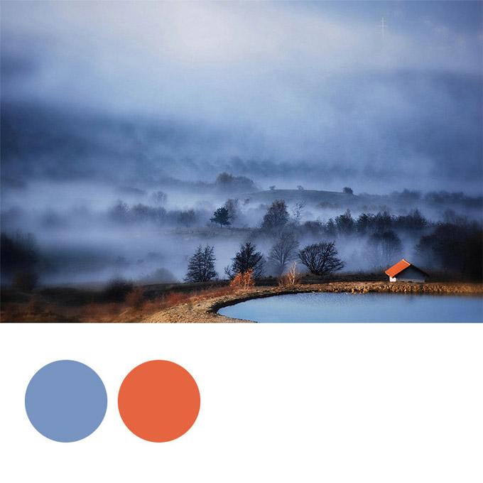 在专业网站制作中可以从图片中吸取配色2