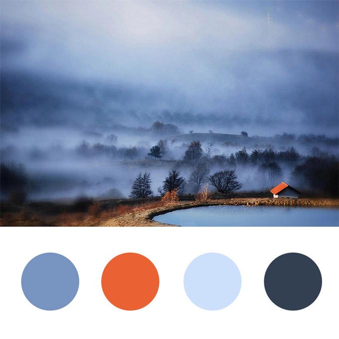 在专业网站制作中可以从图片中吸取配色4